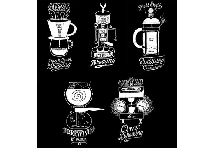 Conceptual series on brewing coffee, Starbucks Coffee Co.